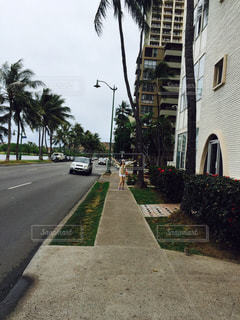 アウトドア,海,海外,散歩,女の子,旅行,ランニング,ハワイ
