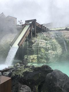草津温泉の写真・画像素材[1803904]