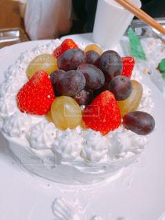 ケーキ,フルーツ,果物,スウィーツ,色,ぶどう,フレッシュ!フルーツ盛り
