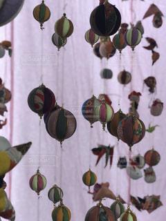 ピンクのカーテンの写真・画像素材[1822747]