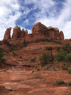風景,景色,砂漠,ロック