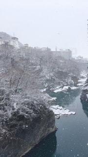 冬の鬼怒川の写真・画像素材[1818333]