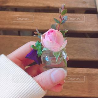 小さな花瓶の写真・画像素材[1964936]