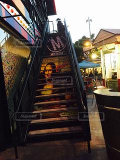 階段グラフィック🖤❤️🖤❤️の写真・画像素材[2148913]