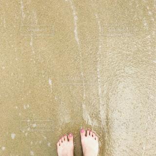 海,自撮り,足元,足,指,自分,セルフ,myself,わたし