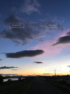 風景,空,屋外,太陽,夕暮れ,光,クラウド