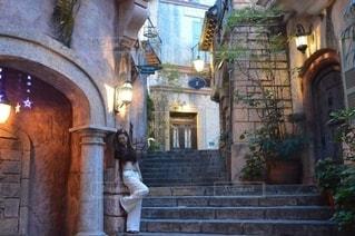 階段1コマフォトの写真・画像素材[2749441]