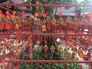 海外,カラフル,旅行,照明,可愛い,たくさん,中国,明るい,寺,春節