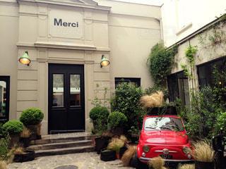 車,お店,フランス,パリ,お洒落,merci