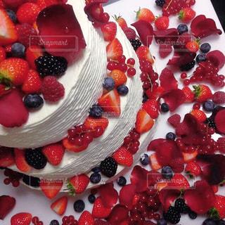 ウエディングケーキの写真・画像素材[1883835]