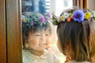 花かんむりの写真・画像素材[2455175]
