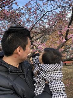 子ども,公園,桜,屋外,親子,女の子,樹木,赤ちゃん,1歳,ブロッサム