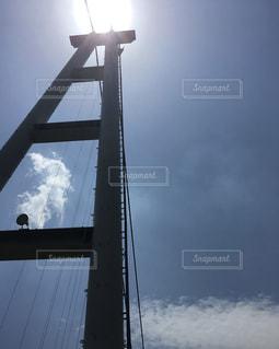 九重夢大吊橋の写真・画像素材[1867232]