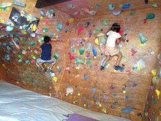 スポーツ,屋内,室内,雨天,運動,インドア,兄弟,ボルダリング,インドアスポーツ