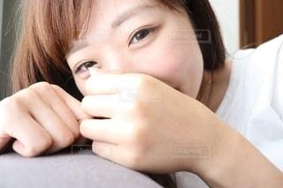 女性の笑顔の写真・画像素材[2313412]