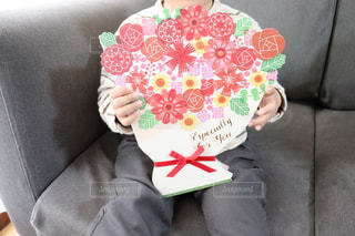 子供からのプレゼントの写真・画像素材[2899160]