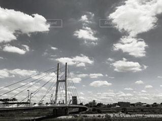 空と橋の写真・画像素材[2905929]