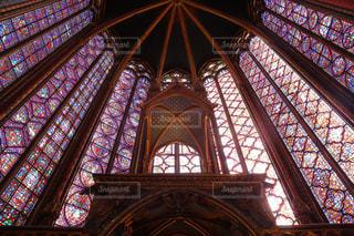 綺麗,ヨーロッパ,旅行,フランス,パリ,ステンドグラス,教会,海外旅行,一眼レフ,サントシャペル