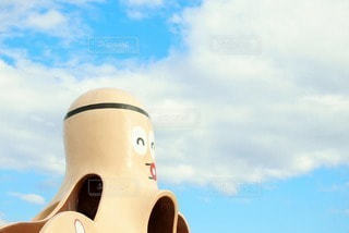 タコさん滑り台 テキストスペースありの写真・画像素材[2986889]
