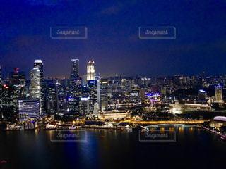 風景,夜景,旅行,シンガポール,海外旅行,卒業旅行,マリーナベイ