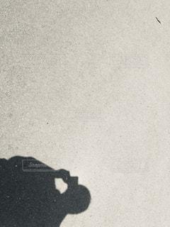 カメラマンの黒い影の写真・画像素材[1868829]