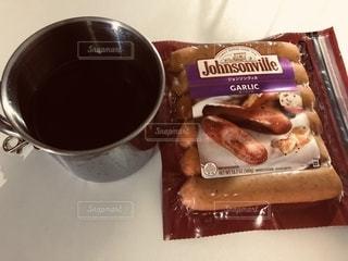コーヒー,ソーセージ,ジョンソンヴィル