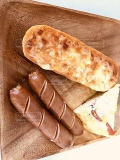 食べ物,コーヒー,朝食,パン,ワンプレート,サンドイッチ,朝,肉,モーニング,ソーセージ,プレート,ボイル,ジョンソンヴィル