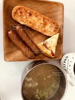 食べ物,コーヒー,朝食,パン,ワンプレート,サンドイッチ,肉,ソーセージ,プレート,ボイル,ジョンソンヴィル