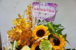 花,海外,黄色,ベトナム,イエロー,色,黄,ハノイ,yellow,国際女性デー,花カゴ