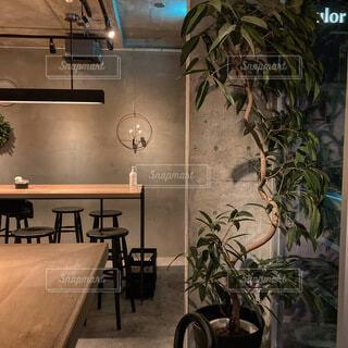 夜カフェの写真・画像素材[4833970]