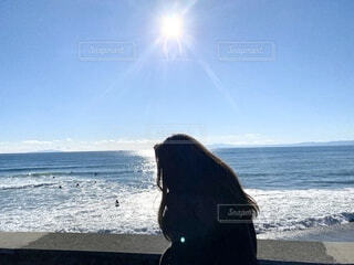 海辺フォトの写真・画像素材[4845236]