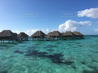 海,空,海外,ビーチ,旅行,リゾート,海外旅行,ハネムーン,タヒチ,モーレア島