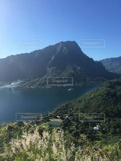 自然,山,景色,観光,展望台,海外旅行,タヒチ,眺め,モーレア島,ベルデベーテ