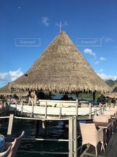 観光,旅行,リゾート,海外旅行,ハネムーン,ガレット,タヒチ,モーレア島,トンガリ屋根