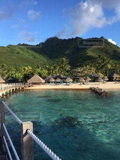 海,ビーチ,山,観光,旅行,リゾート,海外旅行,ハネムーン,タヒチ,眺め,モーレア島