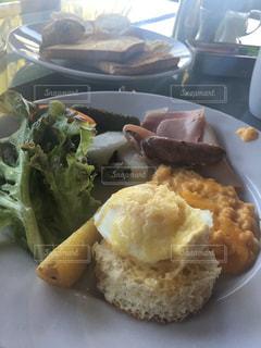 食事,朝食,海外,黄色,朝,卵,イエロー,エッグ