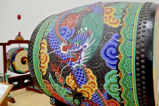 韓国の太鼓の写真・画像素材[2080019]
