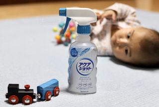 おもちゃとアクアショットの写真・画像素材[2806471]