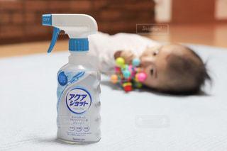 赤ちゃんグッズの消毒除菌にアクアショットの写真・画像素材[2806477]
