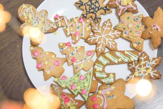 クリスマスクッキーの写真・画像素材[2822506]