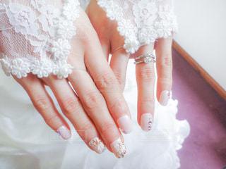 花嫁の手元の写真・画像素材[3169047]