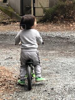 男の子,孫,ストライダー,2歳