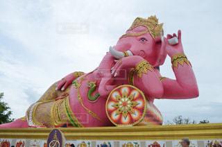 ピンク,旅行,像,象,タイ,海外旅行