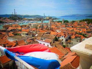 海外,世界遺産,ヨーロッパ,旅行,国旗,海外旅行,クロアチア,トロギール