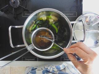 朝の味噌汁の写真・画像素材[1853722]