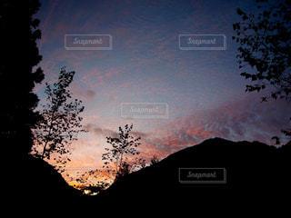 夕暮れの空の写真・画像素材[1860689]