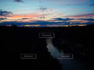 ベルンの夕暮れの写真・画像素材[1860719]