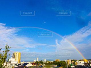 青空と虹の写真・画像素材[1860759]