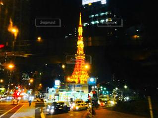 夜の街東京の写真・画像素材[1875580]
