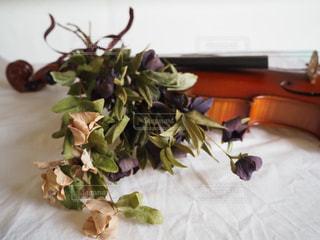 テーブルの上の花瓶の写真・画像素材[2811955]
